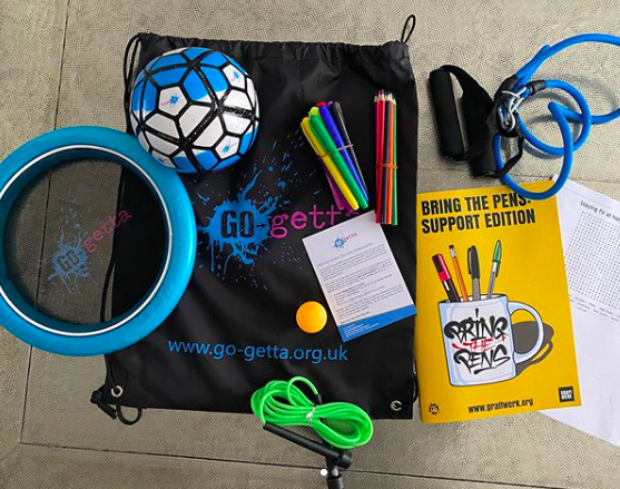 Wellbeing Kits - Stay home. Stay Active. Stay Safe.